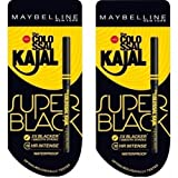 #3: Maybelline New York Colossal Kajal, Super Black, 0.35g [Pack of 2]