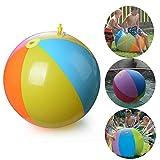 GoodFaith Bola de agua inflable para playa, verano, juguete inflable...