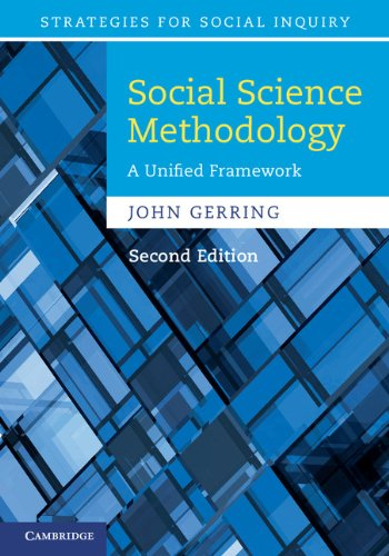 Social Science Methodology (Strategies for Social Inquiry)