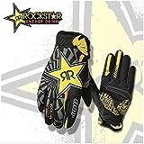 Gant Motocross VTT Sport Multiple THOR ROCKSTAR - homme - noir/jaune MODELE 2016