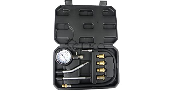 Testeur pour mesurer la pression de compression dans les moteurs /à essence 8 /él/éments n /° 3
