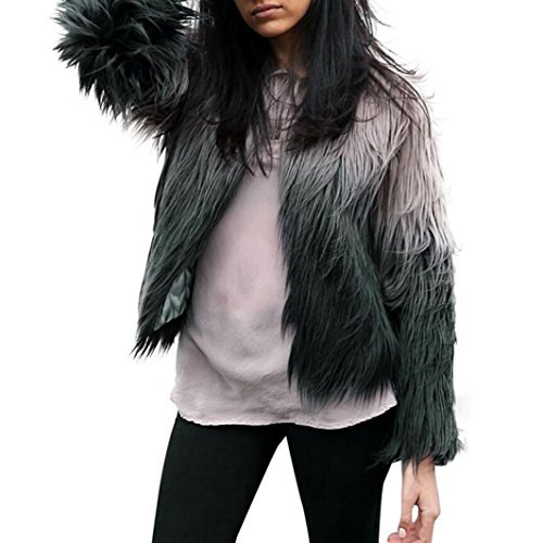 Damenmode Schöne Kleider Hirolan Winter Hipster Jacke Damen Lange Hülse Weste Mode Mädchen Oberbekleidung Hoch Qualität Materialien Übergroß Luxuriös Dame Outfits Elegante Kleider (XXL, Grau) (Calvin Baumwoll-kleid Klein-Ärmelloses)