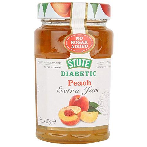 Stute Diabetic Jam Peach 430g