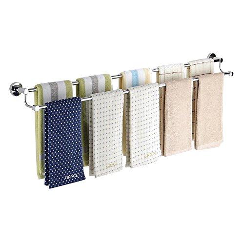 BOBE SHOP- Edelstahl Handtuchhalter Lange Badezimmer Bad Handtuch Bar Badezimmer Zubehör ( größe : 100cm ) (Für Handtuchhalter Badezimmer)