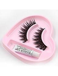 Tonsee® 1 pair Natural Long Thick False Eyelashes Charming Eyelashes Makeup