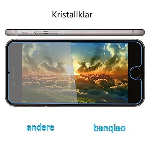 (2pezzi) iPhone 7Pellicola Protettiva, banqiao Pellicola Protettiva VETRO TEMPERATO VETRO TEMPERATO CON durezza 9H vetro temperato vetro di protezione schermo per iPhone 7-Protezione
