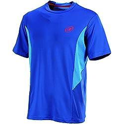 BullPadel Coleos - Camiseta para hombre, color azul tinta, talla L