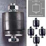 4x Inverter Klimaanlage Antivibrationsfüße Schwingungsdämpfer Dämpfer Klimagerät