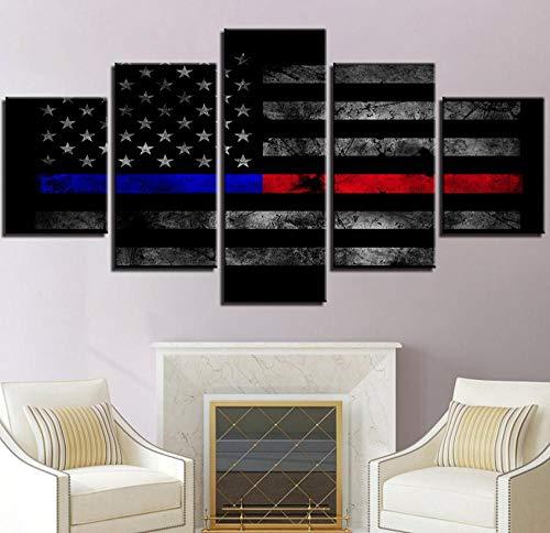 Wulian Malerei Einfaches Modernes Dekoration-Malereimosaik Der Amerikanischen Flagge Des Tintenstrahls Klassisches Hauptcafé, Das Dunhuang Malt