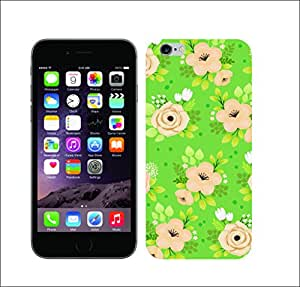 Galaxy Printed 1316 Whimsical Green HARD COVER for Apple iPhone 4