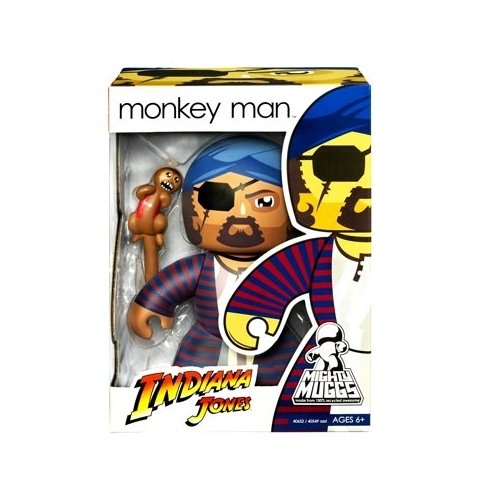 Indiana Jones Mighty Muggs Monkey Man (baracca) Picture