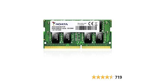 Adata Ad4s266638g19 R 8gb Ddr4 2666mhz Memory Modules Computers Accessories
