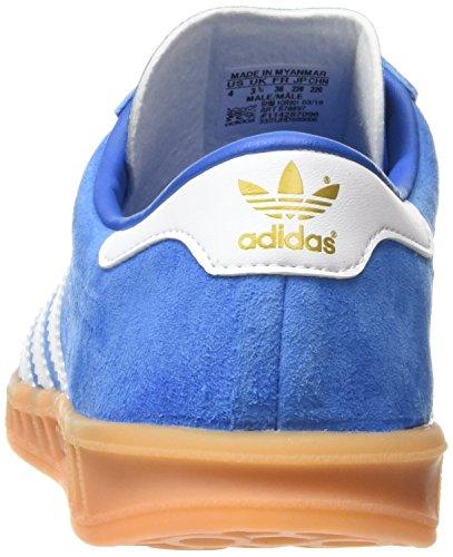 adidas Hamburg, Chaussures de Running Compétition Homme, Taille Unique Bleu (Bluebird/Ftwr White/Gum)