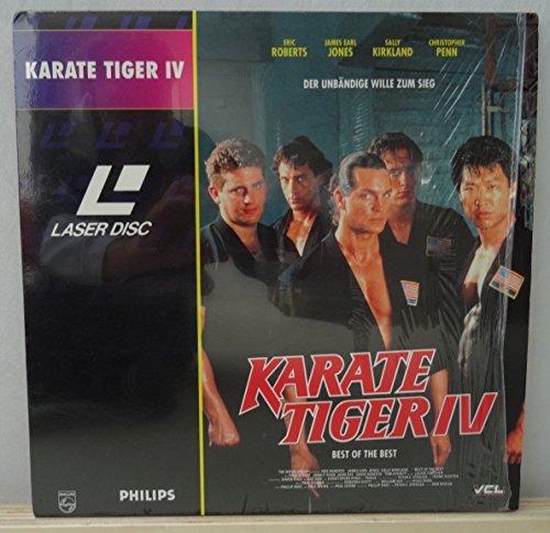 Karate Tiger IV (Laserdisc)