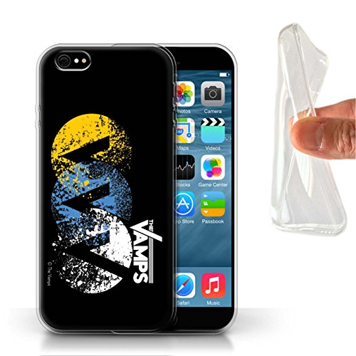 Offiziell The Vamps Hülle / Gel TPU Case für Apple iPhone 6S / Pack 6pcs Muster / The Vamps Graffiti Band Logo Kollektion VVV