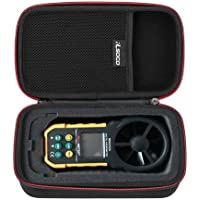 RLSOCO Digital Anemometer Case Carrying case for Proster Digital Anemometer MS6252A/Protmex MS6252B/MS6252A/HOLDPEAK 866B Digital Anemometer