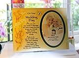 Best Il Nonni regalo Photo Frames - Inspirational Glass Poem photo Frame regalo di nozze Review