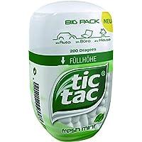 Tic Tac Menthe Bouteille de 200 Pastilles