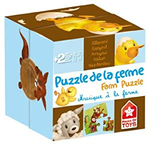 House of Toys - 772510 - Puzzle - Animaux Musiciens