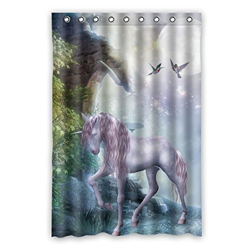 beautiful-fantasy-last-unicorn-prances-with-its-wild-mane-flowing-and-muscles-shining-shower-curtain