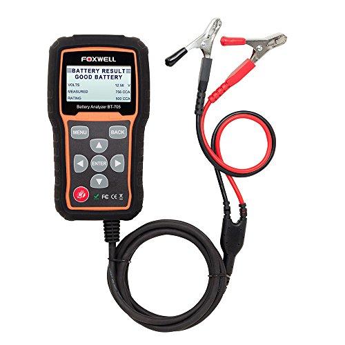 Foxwell bt705Automotive Akku Tester Auto Akku Analysegerät für Batterien und 12V/24V starten/Ladesystem