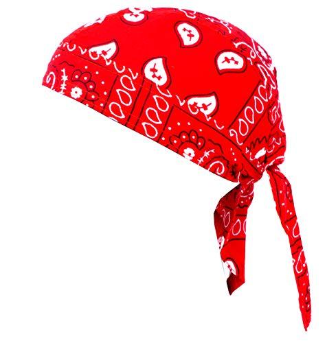 Kopftuch Paisl. Muster Kopftücher Headscarfs (Herren Piraten Kostüm Muster)