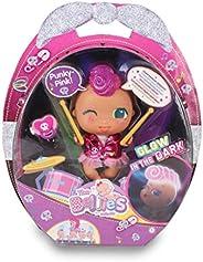 The Bellies - Punky-Pink! Bellie rockero,le encanta la música. Muñeca interactivo para niñas y niños a partir