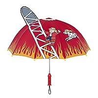 Kidorable Fireman Umbrella - Red