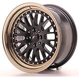 Japan Racing Jr10 Black+Bronze 8x16 ET20 4x100/108 Llantas de aleación