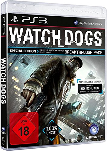 Watch Dogs - Special Edition [Sony PlayStation 3] (Watch Dogs Limited Edition)