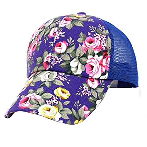 Baseball Cap, Bestow Unisex Embroidery Baseball Cap Adjustable Boys Girls Cotton Snapback Hip Hop Flat Sun Hat