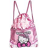 Karactermania Hello Kitty Bow Bolsa de Cuerdas Para El Gimnasio, 35 cm, Rosa