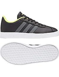 best service f41cb 03438 adidas VL Court 2.0 K – Scarpe da tennis, Bambini, Nero (Negbas