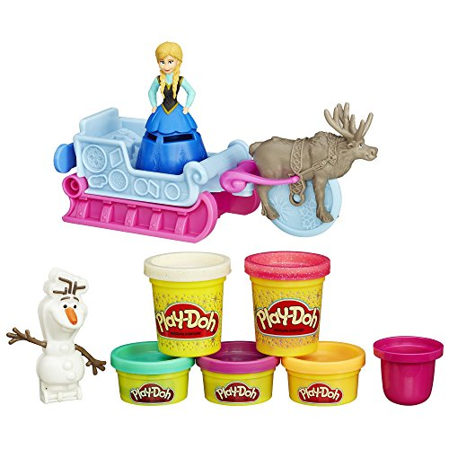 Play-doh sled adventure featuring disney' s frozen