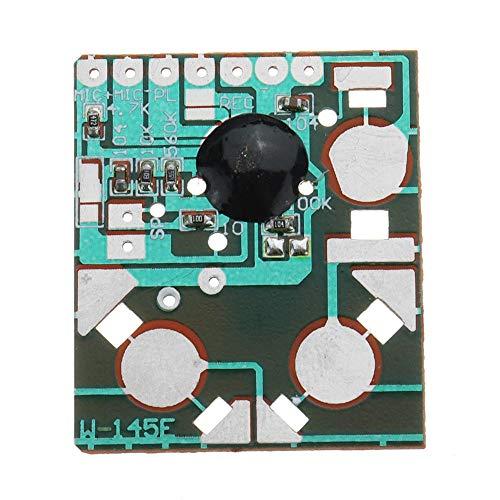 Cornelia Pound DIY Elektro-Kit Modul Movement Recorder Aufnahmestift Musikkarte Electronic Kit Miniatur Digital Recording Voice IC Chip