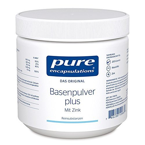 PURE 365 Basenpulver plus 200g pure encapsulations