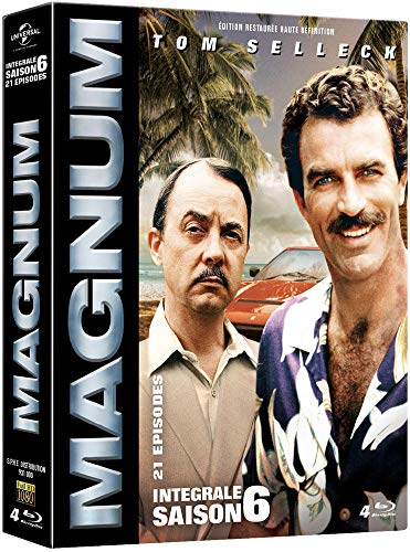 Coffret magnum, saison 6, 21 épisodes [Blu-ray] [FR Import]