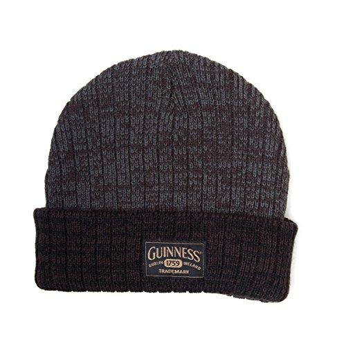 Guinness Acrylic Beanie cappello con logo, grigio