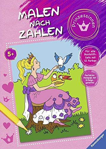 Malen nach Zahlen: Prinzessinnen