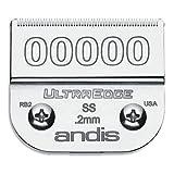 Andis 64740 - Juego de cuchillas para Andis Ultra Edge Blade T-24, 4 mm
