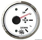 Indicateur trim 0/190 Ohm blanc/polie