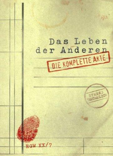 Bild von Das Leben der Anderen - Die komplette Akte (+ Audio-CD) [Limited Edition] [2 DVDs]
