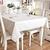 Stile scandinavo minimalista genuina solida tovaglia di tela di lino lavata tovaglia 6512-3