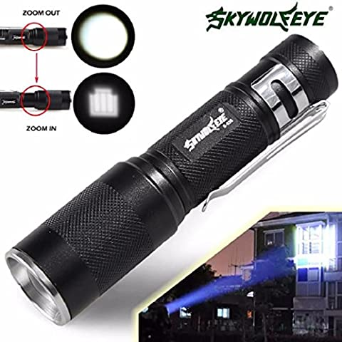 Xmansky 4000LM Zoomable CREE XM-L Q5 LED Taschen lampe 3 Modus Fackel Super Hell Licht Lampe