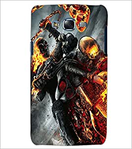 PrintDhaba Ghost Rider D-2172 Back Case Cover for SAMSUNG GALAXY J5 (Multi-Coloured)