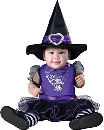 Fancy Me Baby Mädchen Hexe und BERÜHMTE Halloween Kostüm Outfit Verkleidung 0-24 Monate - 0-6 Months (Baby Hexe Kostüm 3 6 Monate)