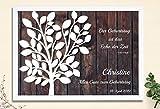 29,7x21 cm Kunstdruck auf Papier Geburtstagsgeschenk Jubiläum Gästebuch von CristalPainting Geburtstag Taufe Kommunion Verlobung Polterabend Geschenk