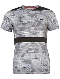 Slazenger Femmes Slam Tennis Performance T-Shirt Tee Top Haut Manche Courte