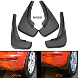 #8: Motopart 4Pcs OE Styled Car Mud Flaps Splash Guards Mud Flap Mudguards for Chevrolet Sail {2014-2015