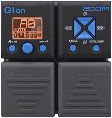 Zoom G1on - Multiefecto para guitarra, color negro